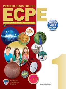 Practice Tests for the ECPE, Book 1 (Revised 2021 Format)